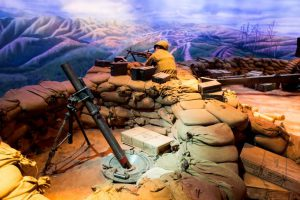 81mm mortar pit on Hill 881S Khe Sanh