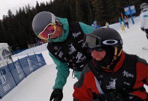Adaptive Skiing Clinic in Colorado