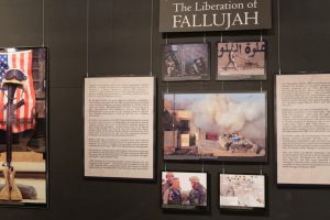Fallujah exhibit NMMCThe High Ground Memorial