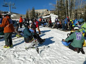 """Docking Area""… NDV Winter Sorts Clinic, Snowmass, CO"
