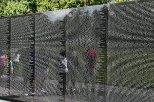 """The Wall"" - Vietnam Memorial, Washington, D.C."