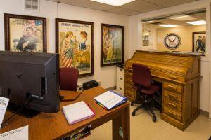 Veterans Resource Center office