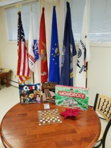 Veterans Resource Center game table