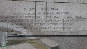 WWII Memorial in Washington, D.C.
