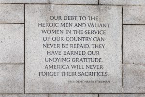President Harry S. Truman quote - WWII Museum