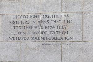 WWII Museum Nimitz Quote